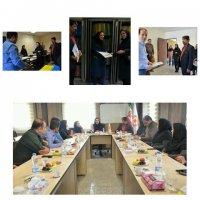 تهران| بهارستان |برگزاری جلسه شورای توانبخشی در بهزیستی بهارستان