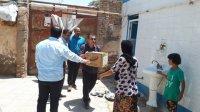 خوزستان|هزار و ۸۸۰ بسته موادغذایی بین مددجویان سیل زده توزیع شد