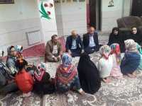 استان سمنان ا بازدیدمعاون دفترامور کودکان و نوجوانان سازمان بهزیستی کشور از مرکز شبه خانواده سارینا