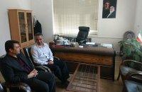 همدان |کبودراهنگ|دیدار با بخشدار مرکزی در جهت کاهش آسیب های اجتماعی