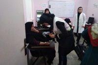 ۲۵۰ نفر از اهالی کوی محتشم گرگان خدمات پزشکی رایگان دریافت کردند