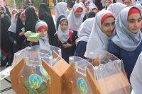 توزیع یک میلیون پاکت ویژه جشن عاطفهها در مدارس استان تهران