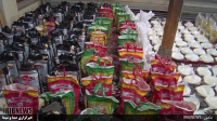 توزیع 450 بسته مواد غذایی در بین نیازمندان بنابی