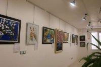 آیین گشایش اولین نمایشگاه آثار هنرهای تجسمی افراد دارای معلولیت در کرمان