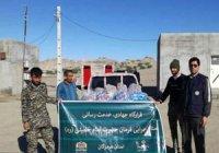 ارسال کمکهای ستاد اجرایی فرمان حضرت امام به مناطق سیل زده هرمزگان