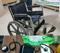 اهداء تجهیزات پزشکی به مراکز درمانی سوق و دهدشت
