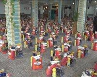 رزمایش کمک مومنانه در شهرستان نیر برگزار شد