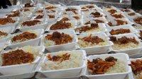 توزیع غذای گرم در سمنان