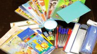اهدای هزار و ۶۷۰ بسته لوازم التحریر به دانش آموزان قزوینی