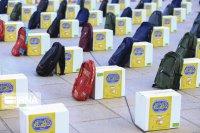 2  هزار و ۱۰۰ بسته لوازم التحریر بین دانشآموزان نیازمند بروجرد توزیع شد