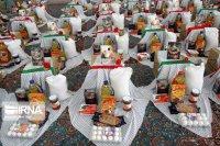 ۵۰۰ بسته کمک معیشتی بین نیازمندان تربتحیدریه توزیع شد