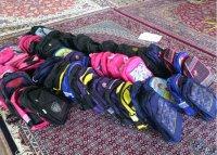 ۳۰ کیف به همراه لوازم التحریر در اختیار دانش آموزان نیازمند قرار گرفت