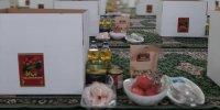 اهدای بسته حمایتی شب یلدا به نیازمندان در زرند