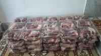 توزیع گوشت در بین خانوادههای مددجوی شهرستان مهران