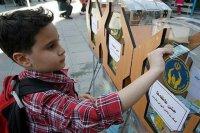 برپایی ۱۰ پایگاه جمع آوری کمکهای مردمی در استان