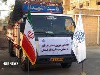 ارسال کمکهای پزشکی خیران دزفول به سیستان و بلوچستان