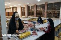 ۲۳۷۵ بسته گوشت قربانی در اسفراین توزیع شد