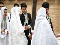 مراسم ازدواج همزمان 21 زوج در عید غدیر