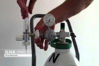 پویش نذر نفس اهدای کپسول اکسیژن و دستگاه اکسیژن ساز برای بیماران نیازمند البرزی