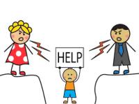 حمایت از بچه های طلاق